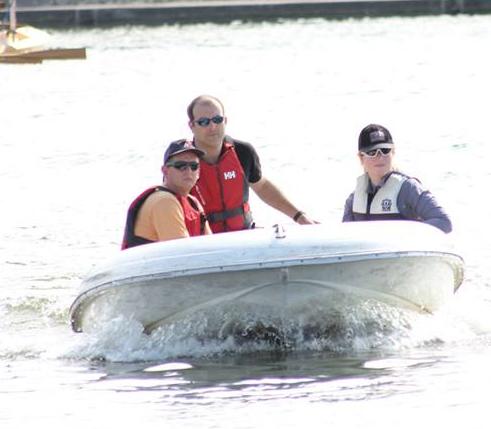 RYA Power Boat Safety Boat
